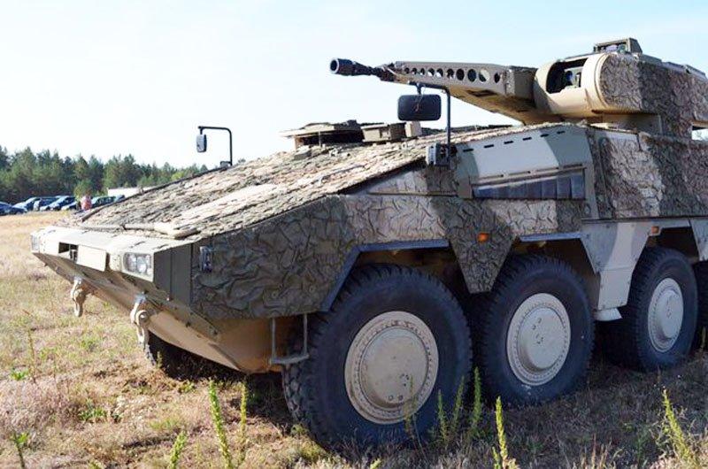 У Литві почалися випробування бронетранспортера «Боксер» здатного пробивати російські БТРи і БМП