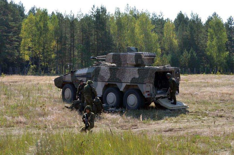 Випробування бронетранспортера «Boxer» у Литві