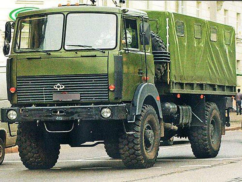 «Богдан» налагодить виробництво військових вантажівок МАЗ в Україні