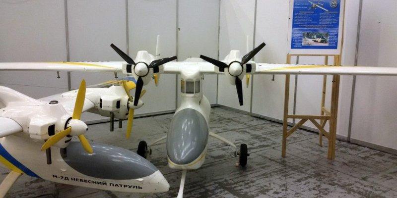 Центр безпілотної авіації «Віраж» продемонстрував нові зразки безпілотників