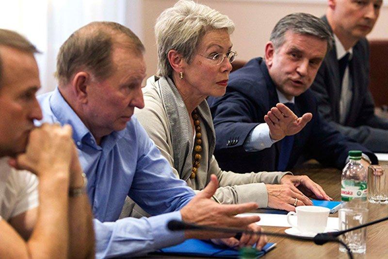 29 вересня тристороння контактна група обговорить відведення зброї та вибори на Донбасі