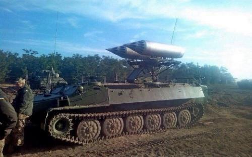 Українські військові зробили з тягача ракетний комплекс. Фото