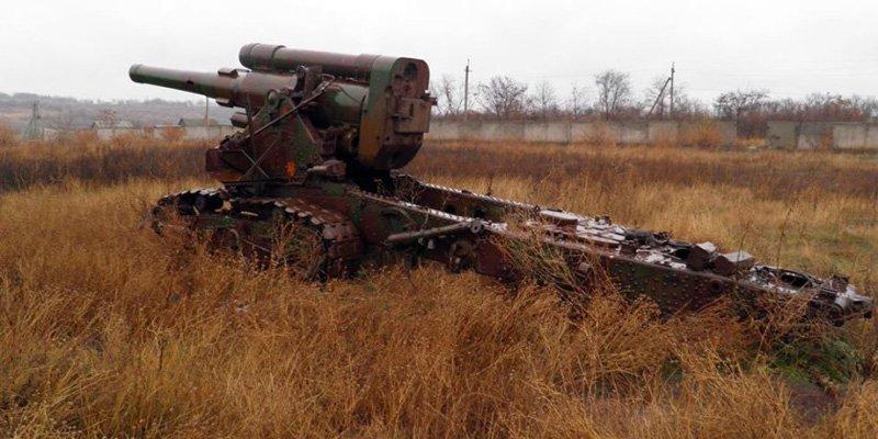 На озброєння 28 ОМБр надійшла батарея 203-мм гармат Б-4 зразка 1931 року