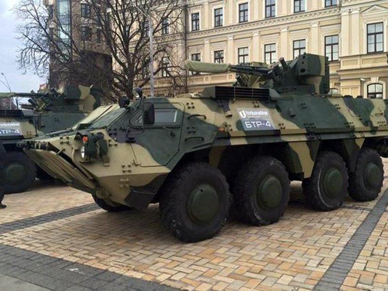 Український бронетранспортер БТР-4 тепер виготовлятимуть і в Житомирі