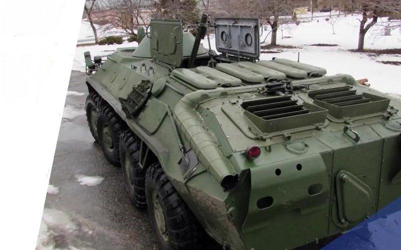 Український 82-мм самохідний міномет