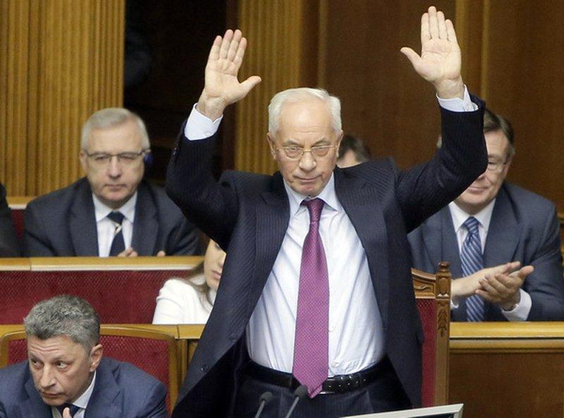 Суд ЄС скасував санкції проти Азарова та членів його уряду