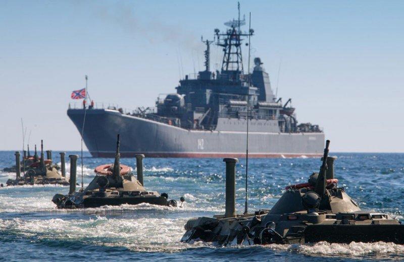 Росія поповнила чорноморський флот 40 бойовими кораблями