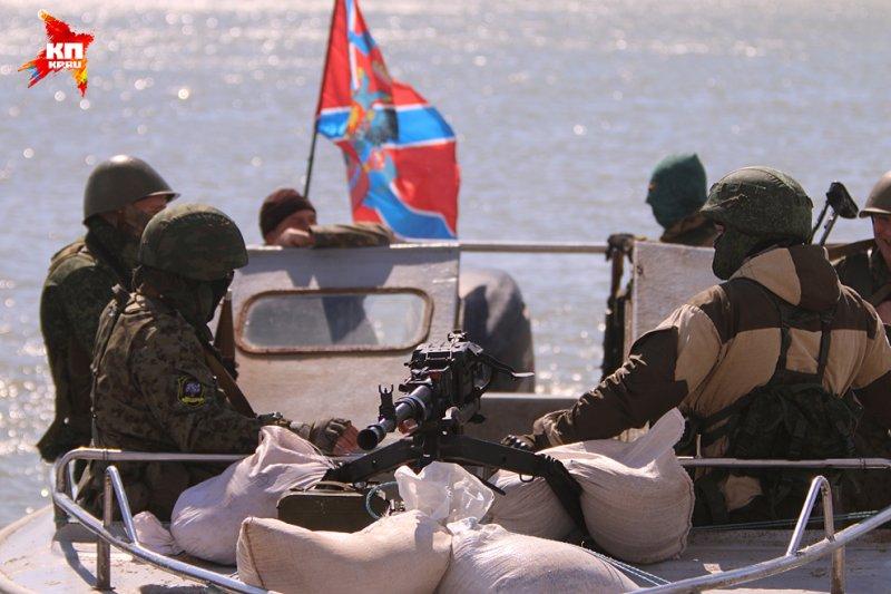 Бойовики попросили в Росії судна для «військово-морського флоту»