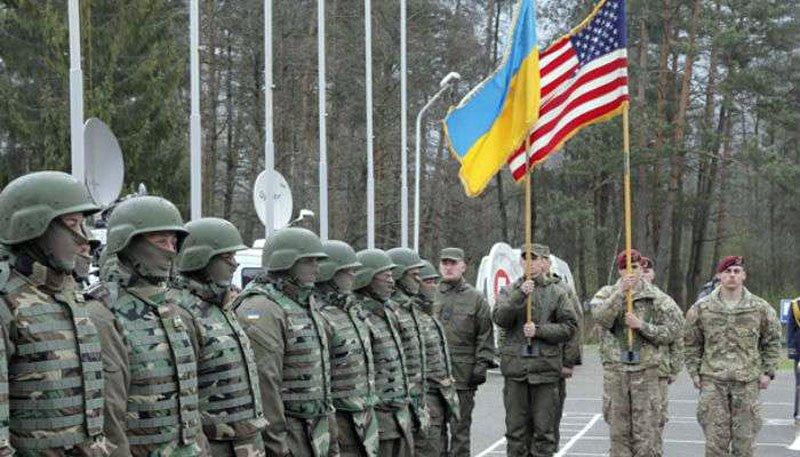 У зоні АТО офіційно з'явилися перші американські військові