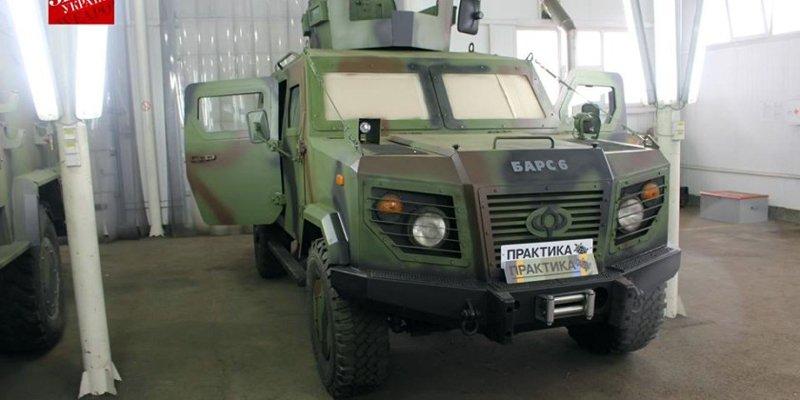 Муженко відвідав НВО «Практика»: вперше продемонстрований оновлений бронеавтомобіль «Барс-6»