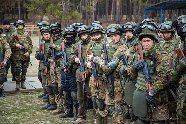 Аллеров відвідав польові заняття бригади швидкого реагування: «У гвардію прийшли нові мотивовані люди».