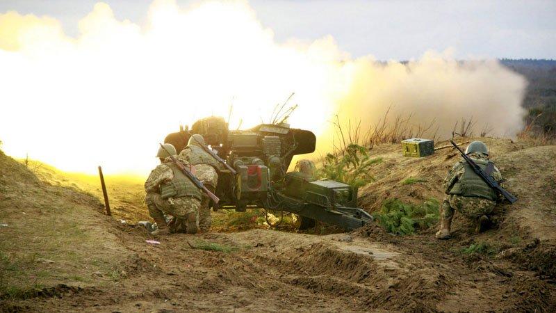 Курсанти-артилеристи здійснили практичні стрільби з протитанкових гармат та мінометів