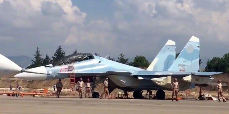 У Сирії були зафіксовані «некритичні» відмови систем новітніх російських бойових літаків «Су»