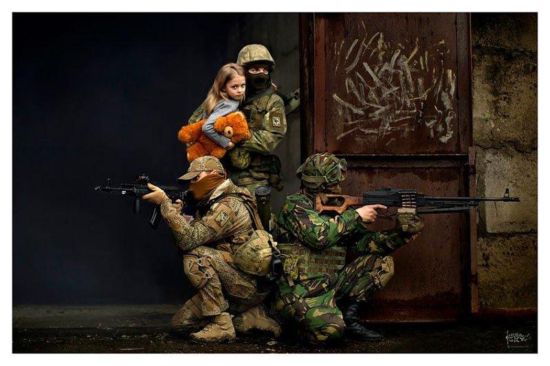 Діти сучасної війни — фотоальбом