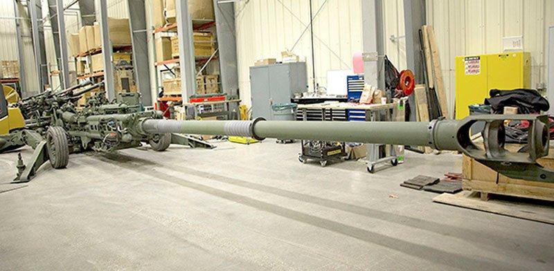 Американці подовжують артилерійські стволи