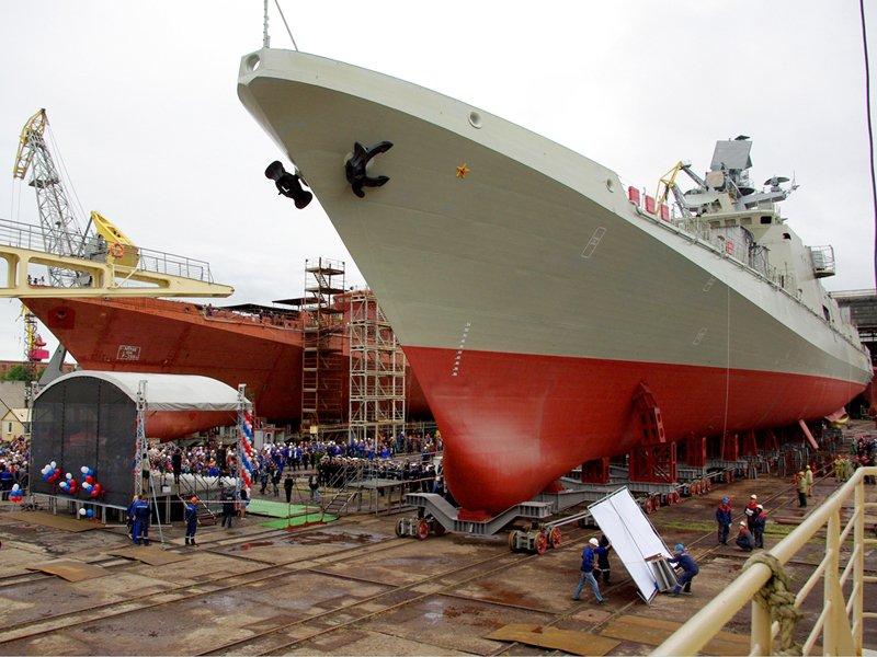 У нановставших з колін — Росія готова продати Індії два фрегати проекту 11356
