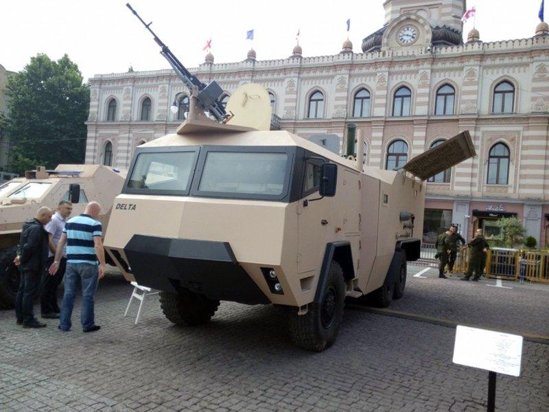 У Грузії розробили новий самохідний міномет GMM-120