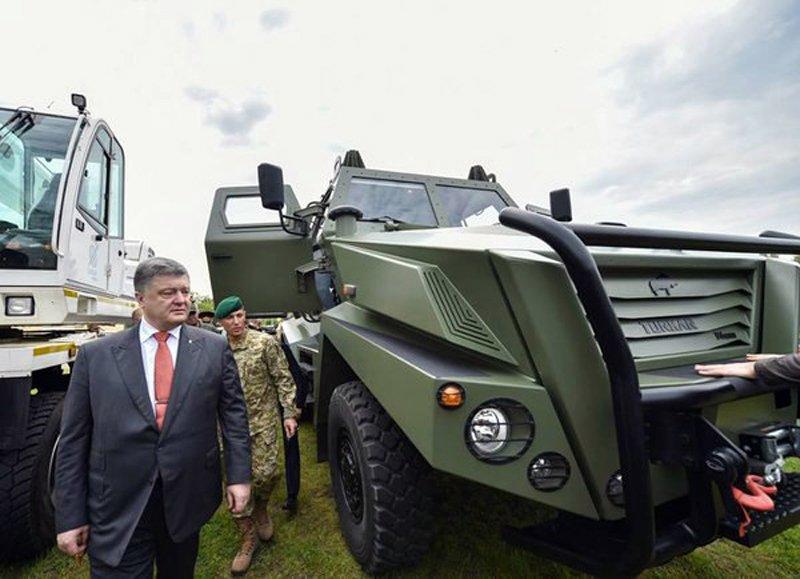 Турецька компанія просуває свій новий бронеавтомобіль Bizon Turkar APC на український ринок