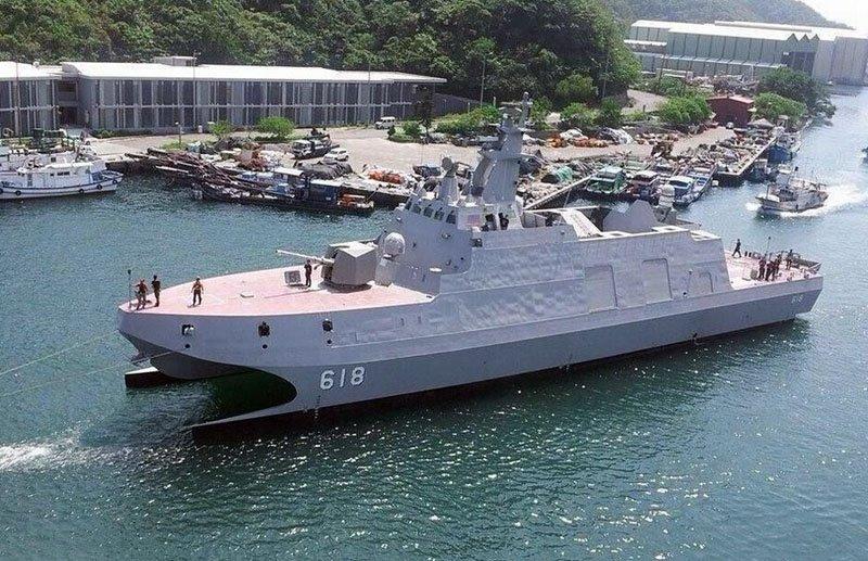 Тайвань витратить на кораблі $ 14,7 млрд