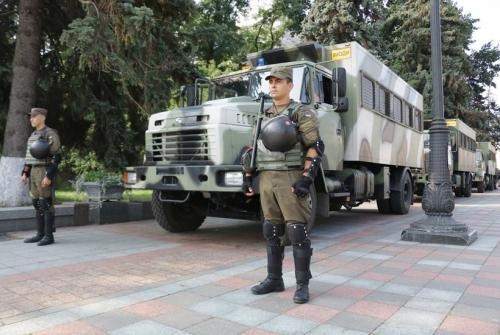 На військових навчаннях засвітилися нові КрАЗи