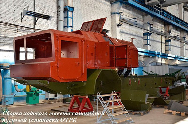 В Україні почалося виробництво новітнього ракетного комплексу «Грім-2»