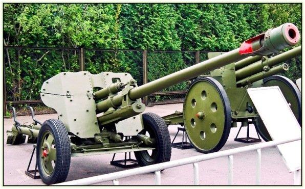 Дослідна протитанкова гармата БЛ-14 (СРСР. 1944 рік)