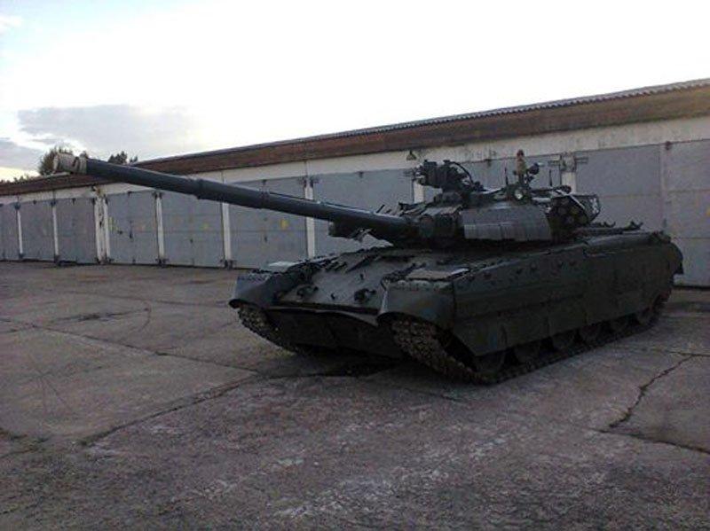 Збройні сили України отримали партію модернізованих танків Т-84