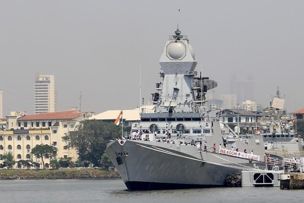 До складу ВМФ Індії прийнято ракетний есмінець Chennaі