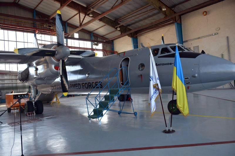 Повітряні Сили ЗСУ прийняли третій у 2016 році відремонтований літак Ан-26 борт 02 зав. номер 85-09