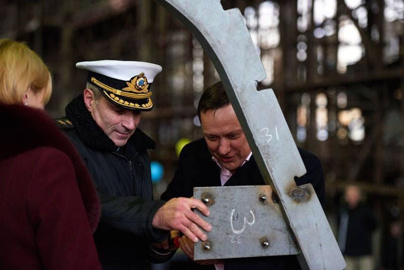 Для ВМС України закладені перші два десантних катери проекту 58181 типу «Кентавр»