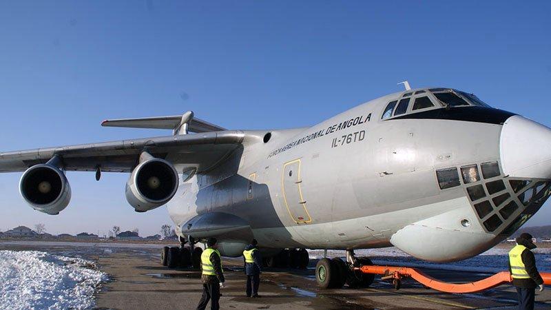 Літаки для ВПС Анголи ремонтуватимуть в Білій Церкві