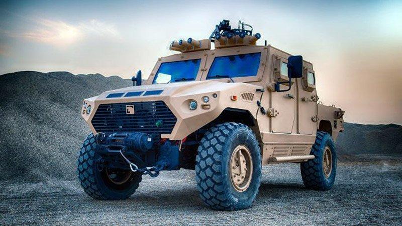 AJBAN, HAFEET і JAIS — нові машини еміратівської армії