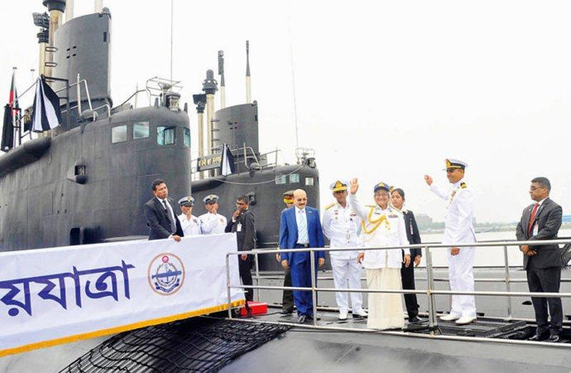 Nabajatra і Joyjatra: перші субмарини Бангладешу