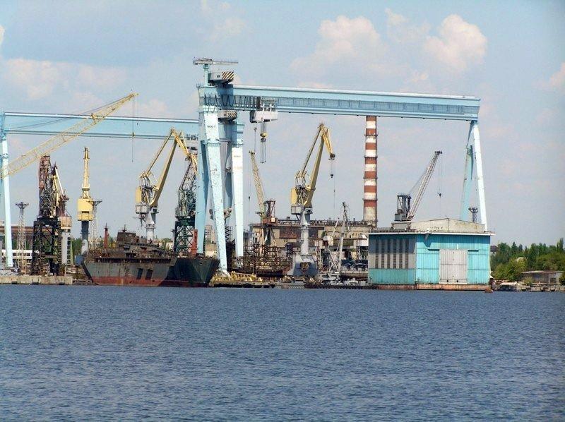 На ЧСЗ йде підготовка до ремонту морського водолазного судна «Нетішин»