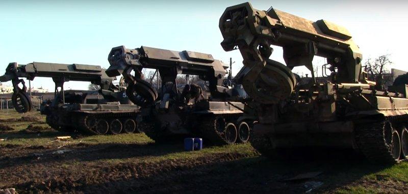 Робота інженерно-саперних підрозділів на технічній території арсеналу