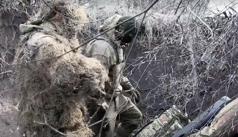 Робота снайперів у парі
