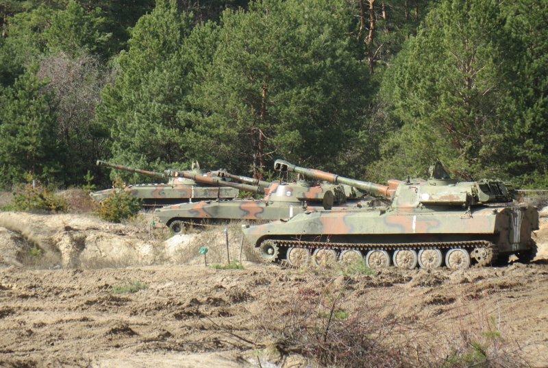 На Чернігівщині артилеристи виконали стрільби з озброєння самохідних гаубиць