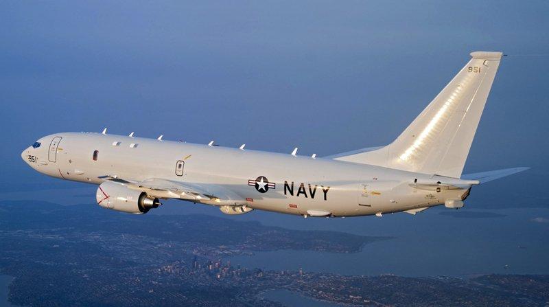 Літак ВМС США провів розвідку поблизу узбережжя Криму