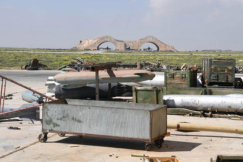 США: Сирійська авіабаза Шайрат з військової точки зору марна