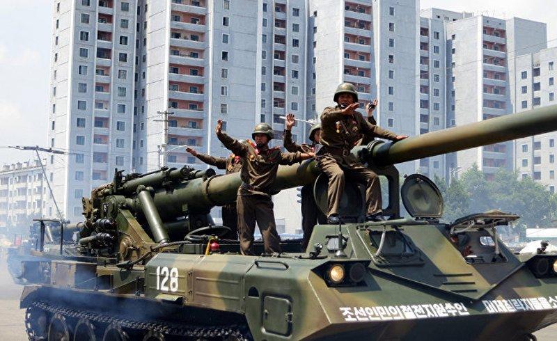 Наземні війська КНДР володіють великою ударною міццю (перш за все, це 4 300 танків)