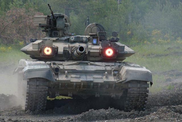 Гра в хованки — танки T-90A на Донбасі
