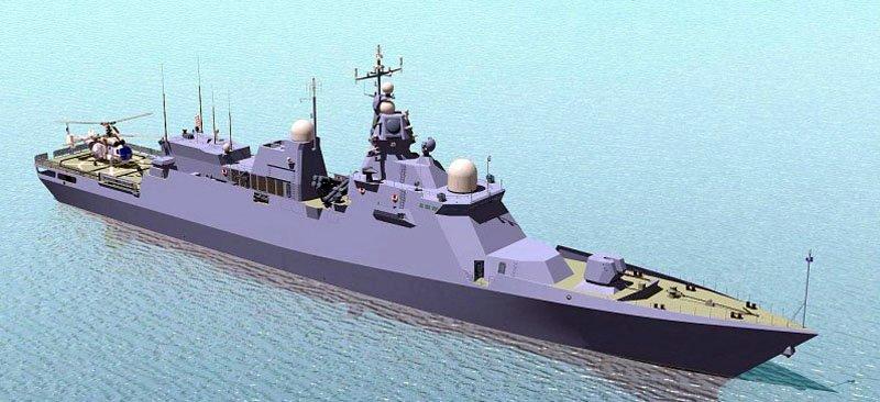 Стан будівництва корвету проекту 58250 на Чорноморському суднобудівному заводі