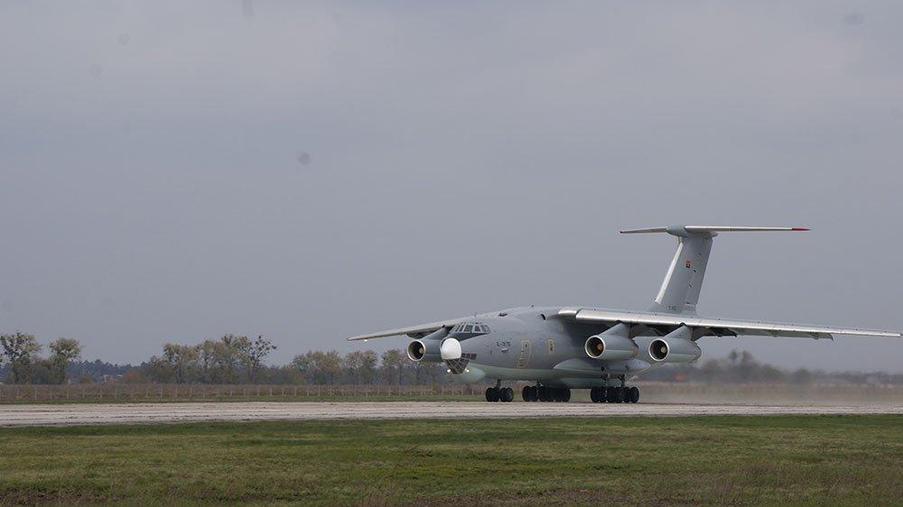 Ангольський літак Іл-76 після техобслуговування в Білій Церкві повернувся до Африканського континенту