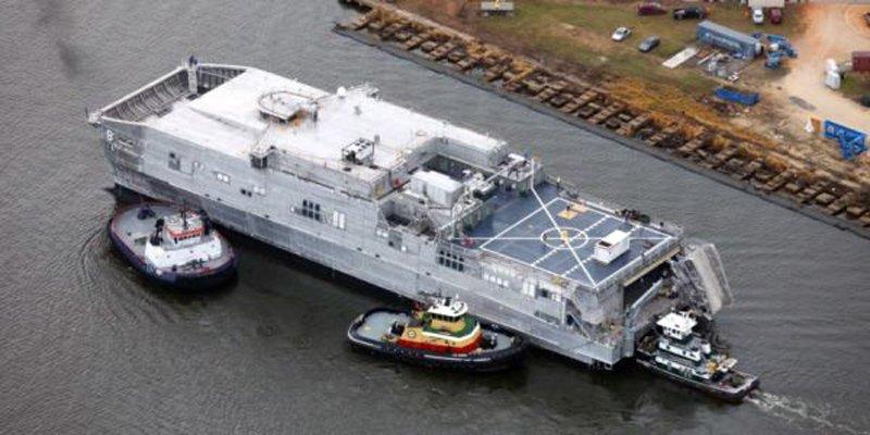 Черговий катамаран класу «Сперхед» надійшов у ВМС США