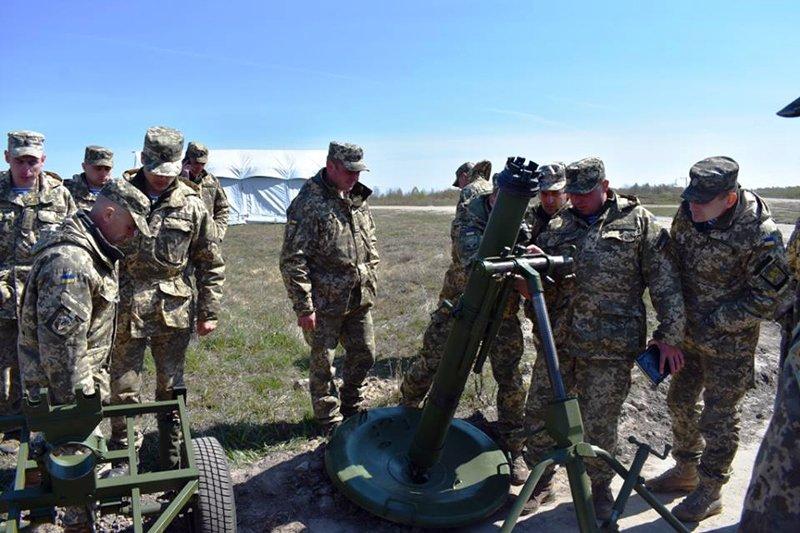 На Житомирщині розпочалися збори з командирами рот та батарей військових частин ВДВ ЗС України