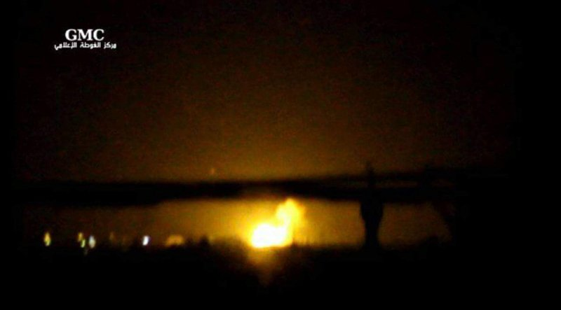 По аеропорту Дамаска завдали потужних ударів