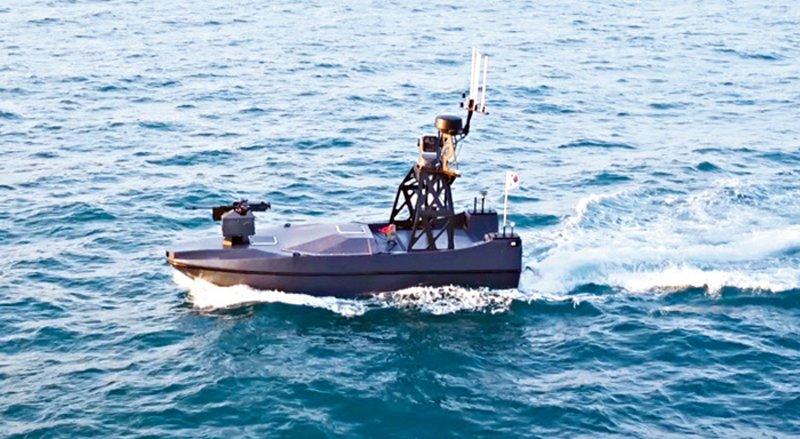 Південнокорейський розвідувальний безпілотний катер «Морський меч»