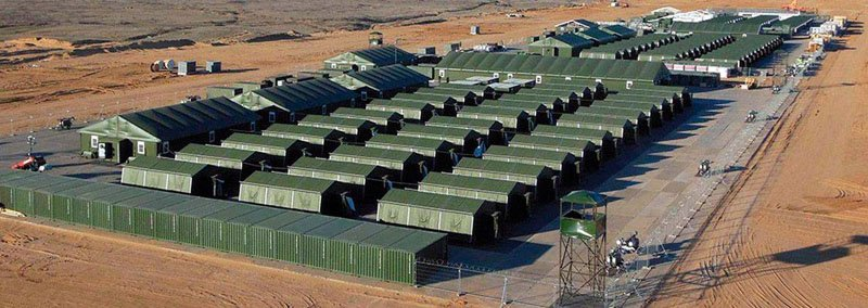 У Латвії почали будівництво автономного містечка сил НАТО