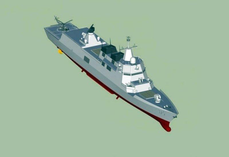 США і Росія стурбовані появою в складі ВМС Китаю серії новітніх ракетних есмінців