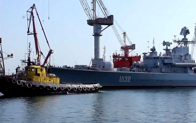 Флагман українського флоту відправили на ремонт